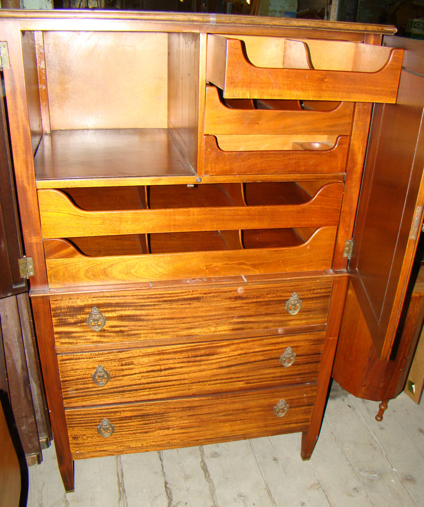 Gentlemens chest. Gamage Antiques   your source for Antiques  Appraisals  Auctions